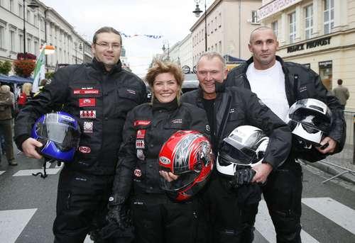 Motocyklowe swieto w Warszawie
